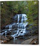 Pearson's Fall And Glen - Saluda North Carolina Acrylic Print