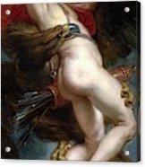 Pedro Pablo Rubens / 'the Rape Of Ganymede', 1636-1637, Flemish School, Oil On Canvas. Acrylic Print