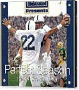 Penn State University Brian Milne, 1994 Ncaa Perfect Season Sports Illustrated Cover Acrylic Print