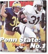Penn State University Freddie Scott Sports Illustrated Cover Acrylic Print