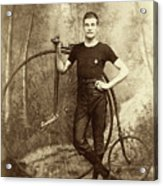 Penny Farthing - High Wheel - Ordinary   Acrylic Print