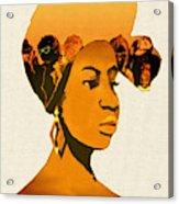 People In My Head Acrylic Print