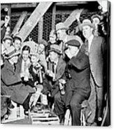 People Waiting To Enter 1929 World Acrylic Print