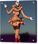 Perched Of Pierrette Acrylic Print