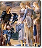 Perseus And The Sea Nymphs 1877 Acrylic Print