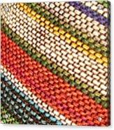 Peruvian Fabric Art Acrylic Print