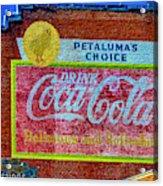 Petalima's Drink Coca-cola Acrylic Print
