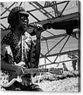Peter Tosh Live Acrylic Print