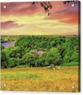 Petersham Landscape Acrylic Print