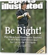 Phil Mickelson, 2006 Masters Sports Illustrated Cover Acrylic Print