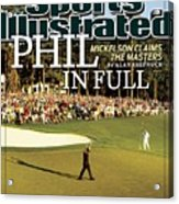 Phil Mickelson, 2010 Masters - Final Round Sports Illustrated Cover Acrylic Print