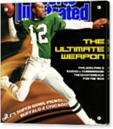 Philadelphia Eagles Qb Randall Cunningham, 1989 Nfl Sports Illustrated Cover Acrylic Print