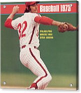 Philadelphia Phillies Steve Carlton... Sports Illustrated Cover Acrylic Print