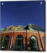 Philadelphia Phillies V Milwaukee Acrylic Print
