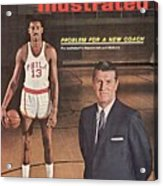 Philadelphia Warriors Coach Frank Mcguire And Wilt Sports Illustrated Cover Acrylic Print