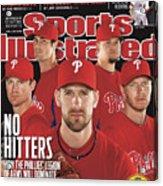 Philladelphia Phillies Starting Five, 2011 Mlb Baseball Sports Illustrated Cover Acrylic Print