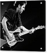 Photo Of Bruce Springsteen Acrylic Print