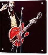 Photo Of Chuck Berry Acrylic Print