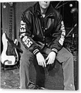 Photo Of Glen Matlock And Mavericks Acrylic Print