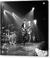 Photo Of Led Zeppelin And Robert Plant Acrylic Print