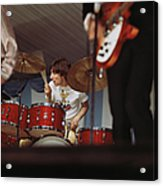 Photo Of Who And Keith Moon Acrylic Print