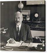 Physicist Edward Guillaume Acrylic Print