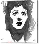 Piaf Acrylic Print