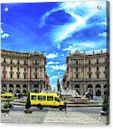 Piazza Della Repubblica Acrylic Print
