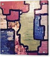 Pieces Of The Puzzle Acrylic Print