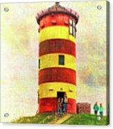 Pilsum Lighthouse Leuchtturm  Acrylic Print
