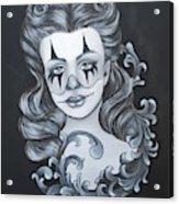 Pin Up Filigree Acrylic Print