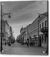Piotrkowska Street Acrylic Print