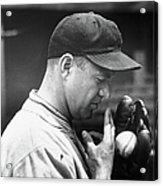 Pitcher Burleigh Grimes Demonstrating Acrylic Print