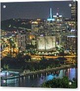 Pittsburgh Lights Acrylic Print