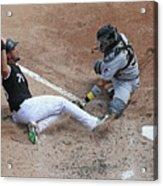 Pittsburgh Pirates V Chicago White Sox Acrylic Print