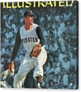 Pittsburgh Pirates Vern Law... Sports Illustrated Cover Acrylic Print