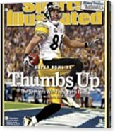 Pittsburgh Steelers Hines Ward, Super Bowl Xl Sports Illustrated Cover Acrylic Print