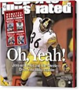 Pittsburgh Steelers Jerome Bettis, 2006 Afc Wild Card Sports Illustrated Cover Acrylic Print