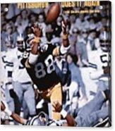 Pittsburgh Steelers Lynn Swann, Super Bowl X Sports Illustrated Cover Acrylic Print