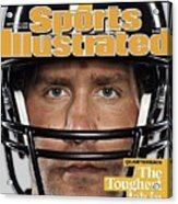 Pittsburgh Steelers Qb Ben Roethlisberger, 2009 Nfl Sports Illustrated Cover Acrylic Print