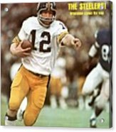 Pittsburgh Steelers Qb Terry Bradshaw, Super Bowl Ix Sports Illustrated Cover Acrylic Print