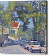 Plateia Kefalari Kifissia Athens Acrylic Print