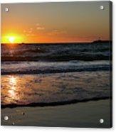 Playa del Rey Sunset Acrylic Print