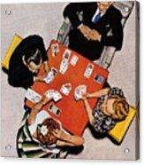 Playing Cards Acrylic Print