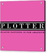 Plotter Acrylic Print
