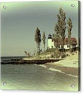 Point Betsie Lighthouse 2 Acrylic Print