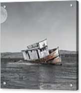 Point Reyes California Shipwreck Acrylic Print
