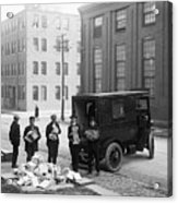 Police Load Van With Communist Acrylic Print