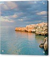 Polignano A Mare On The Adriatic Sea Acrylic Print