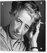 Political Theorist Hannah Arendt Acrylic Print